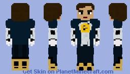 Nora West-Allen   XS (Maskless) - CW Minecraft Skin