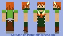 Yak Apron Man Minecraft Skin
