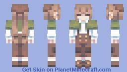 assistant detective - yako (oc) Minecraft Skin