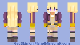 Yang Xiao Long Volume 7 From RWBY Minecraft Skin