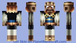 Yasha, the Skeletal Mayakashi Minecraft Skin