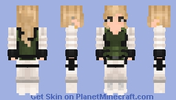 Yelena Belova | Black Widow Minecraft Skin