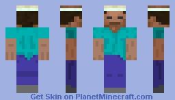 Enchanted Steve Minecraft Skin