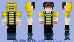 Yellow Minecraft Skin