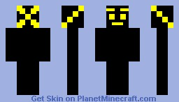 wierd yellow man Minecraft Skin