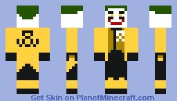 Sinestro Corps. Joker Minecraft Skin