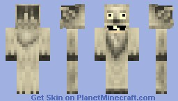 Yeti  (With REAL Moving Eyes and Mouth!!i!) Minecraft Skin