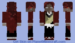Yoriichi shadow Minecraft Skin
