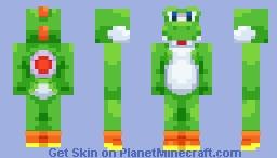 Yoshi: Yoshi's Story Minecraft Skin