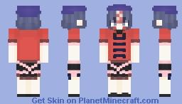 Yoshika Miyako (宮古 芳香) from Touhou 13: Ten Desires (東方神霊廟) Minecraft Skin