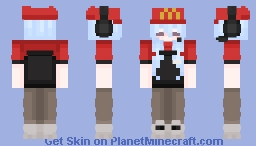 Welcome to McDonalds Minecraft Skin