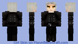 Geralt of Rivia Minecraft Skin