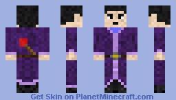 Young Wizard Minecraft Skin