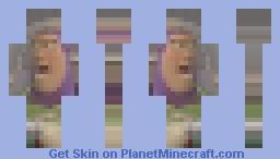 Buzz Lightyear Minecraft Skin