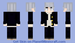 Yu Narukami (Persona 4) Minecraft Skin