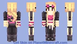 yui kimura/dead by daylight Minecraft Skin