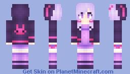 Yukari Yuzuki Minecraft Skin