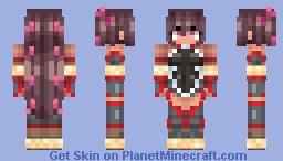 Mizuki Yukikaze 「水城 ゆきかぜ」 Minecraft Skin