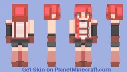 I kin Yume. Minecraft Skin