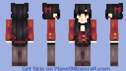 Yumeko Minecraft Skin