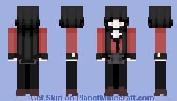 kakagurui - yumeko jabami ♡ Minecraft Skin