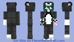 Yuna Kuma kuka kuma Bear Minecraft Skin