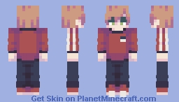 the party ends at the break of dawn Minecraft Skin