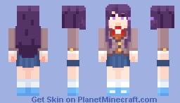 [DDLC Plus] Yuri Minecraft Skin