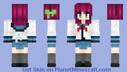 Yuri Nakamura [Angel Beats] Minecraft Skin
