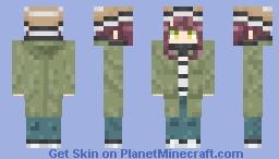 Ayano Toki (Yuru camp) Minecraft Skin