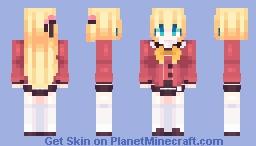 ❤️ Yusa Kurobane || Charlotte❤️ Minecraft Skin