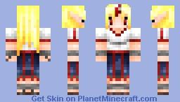 Hoshiguma Yuugi 2.0 from Touhou Project Minecraft Skin