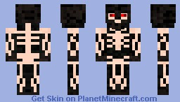 Skeleton From Hell Minecraft Skin