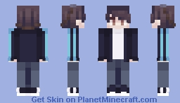 `` Hmm, what should I invent today..? `` (Spiidey, OC Maybe?) Minecraft Skin