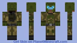 Zalkian Marine Minecraft