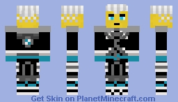 Zane (Legacy Fusion Armour) Minecraft Skin