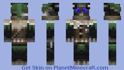 Zappie the Assassin Minecraft Skin