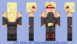 THE WORL- Oh wait wrong character, Zato=1 Minecraft Skin