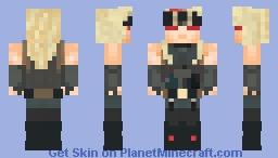 Zato - Guilty Gear Strive Minecraft Skin