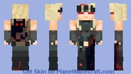 Zato w/Eddie the Forbidden Beast Minecraft Skin