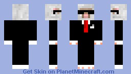 Agent Sheep Minecraft Skin