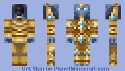 Protoss Zealot - StarCraft Minecraft Skin