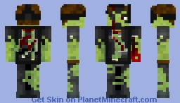 Another Zombie Skin Minecraft Skin