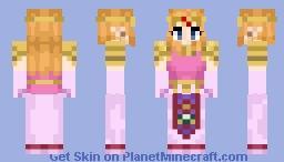 Princess Zelda [OOT] Minecraft Skin