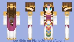 Legend of Zelda Twilight Princess || Zelda [Rpg skin contest] Minecraft Skin