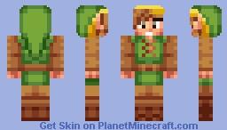 Link (Zelda II) Minecraft
