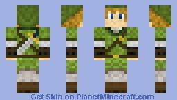 Link - Twilight Princess Minecraft Skin