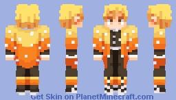 Zenitsu | Demon Slayer Minecraft Skin