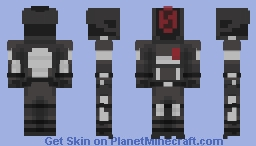 Borderlands 2 - Zer0 Minecraft Skin