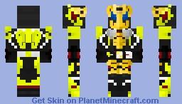 Kamen Rider Zero-One Sparking Giraffe Minecraft Skin